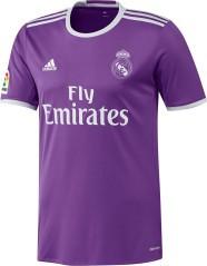 Maglia Calcio Uomo Real Madrid Away 16/17 viola