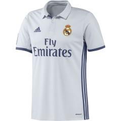 Maglia Calcio Uomo Real Madrid Home 16/17 bianco viola profilo