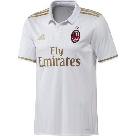 Jersey Milan Away jr 16 17 colore White - Adidas - SportIT.com d5cc1748febeb