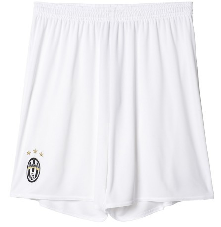 Short Juve away 16/ 17 bianco scudetto front