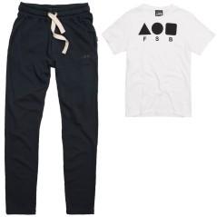 Pantaloni Freddy con t-shirt Freddy coordinata Fleece Street