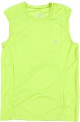 T-Shirt Smanicata Uomo Running verde