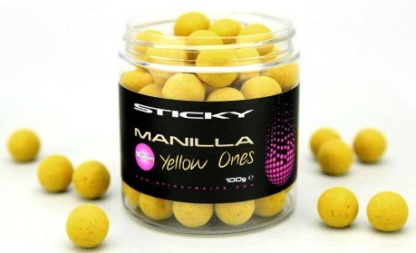Boilies Manilla Yellow 16 mm