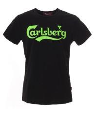 T-Shirt Uomo Stampa Fluo nero