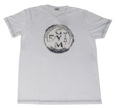 T-Shirt Uomo Logo Back To School bianco