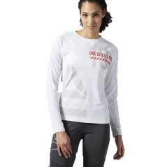 Maglia Donna One Series ActivChill Long Sleeve bianco