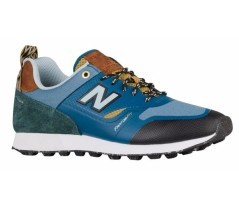 Shoes Man Trail Bust blue green