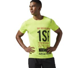 T-Shirt Uomo One Series Running giallo