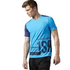 T-Shirt Uomo One Series Sleeve ActivChill azzurro nero