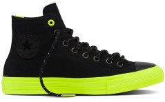Shoes Chuck II Shield Canvas black green