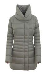 Cappotto Donna Collo Alto grigio
