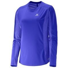 T-Shirt Donna Agile LS viola