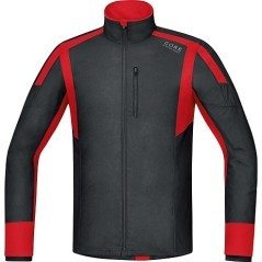 T-Shirt Uomo Air WS Shirt Long nero rosso