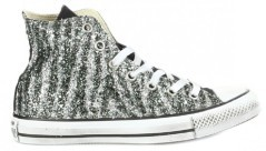 Shoes Women Hi Glitter Zebra fantasy