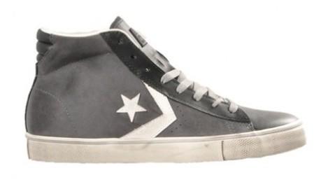 Mens Shoes Pro Leather Mid Vulc colore Grey - Converse - SportIT.com a5575f900bf