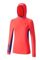 T-Shirt Donna Warmalite Phenix Hoody  rosso blu