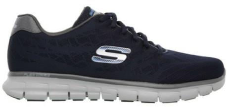 Skechers Scarpe Uomo Colore Blu Marca Modello Scarpe Uomo