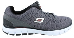 Mens shoes Skech Flex grey