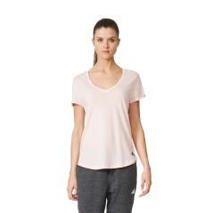 T-Shirt Donna Logo V-Neck rosa