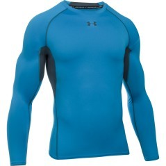 T-Shirt Uomo Armour HearGear Compression nero