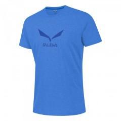 T-shirt Uomo Solid Logo 2 blu