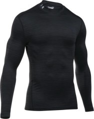 Lupetto Uomo ColdGear Twist Compression nero