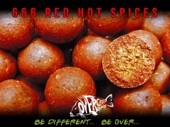 Boilies 666 Red Hot Chilli Spice 20 mm 2 kg