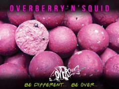Boilies Overberry N' Squid 16 mm 1 kg