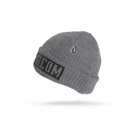 Beanie Hat Treches colore Grey - Volcom - SportIT.com 357a8c7f11f
