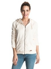 Felpa Donna Fell Snow Polar bianco