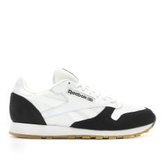 Scarpe Uomo Classic Leather Perfect Split bianco nero