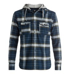 Man shirt Runnel fancy blue