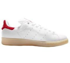 Scarpe Stan Smith bianco rosso