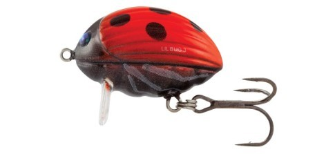 Artificiale Lil Bug Floating 3 cm rosso