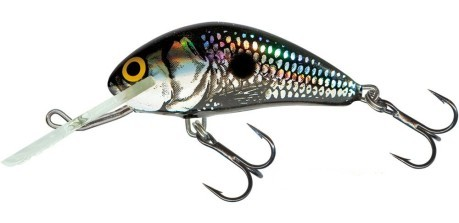 Artificiale Hornet Sinking 2 cm Black Silver Shad