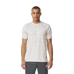T-Shirt Uomo Graphic Dna bianco grigio modello