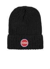 Cappello Uomo Beannie Risvolto nero