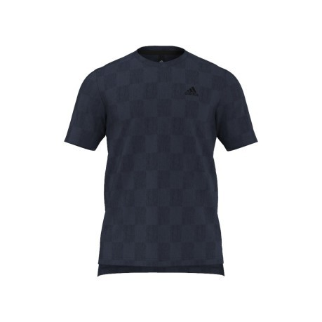 T-Shirt Uomo Check blu
