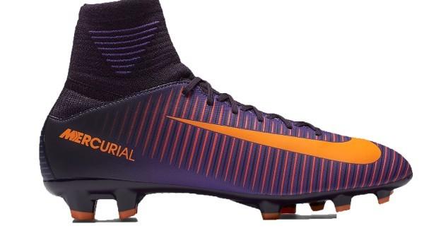 14ce9846f79 Soccer shoes Child Nike Mercurial Superfly FG colore Violet Orange - Nike -  SportIT.com