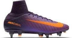 Scarpe Calcio Mercurial Veloce III SG-Pro viola arancio