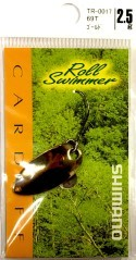 Esche artificiali Roll Swimmer 2,5 g bianco
