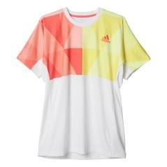 T-Shirt Uomo Two-Tone Pro giallo bianco