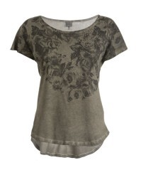 T-Shirt Donna Graphic verde