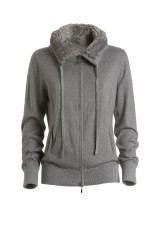 Felpa Donna Soft Fleece grigio
