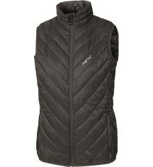 Gilet Donna West White Rock nero