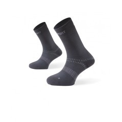 Calze Doubles nero grigio