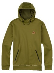 Sweatshirt mens Crown Bonded PullOver green