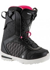 Boot Woman Flora TS black pink