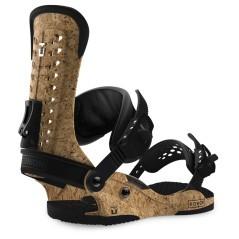 Attacco Snowboard Uomo Force marrone nero