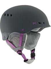 Casco Snowboard Donna Wren grigio rosa